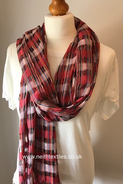 Bohemian summer scarf