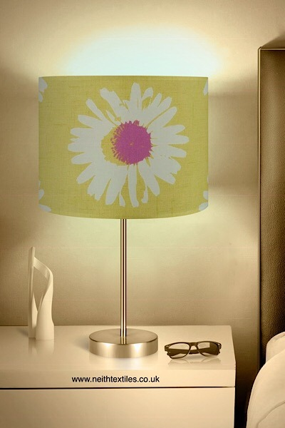 Clarke and Clarke La Vie En Rose lampshade
